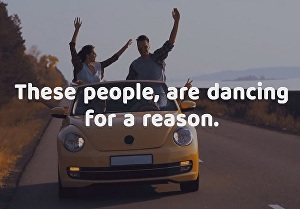 I will make driving school promo video in happy dancing style