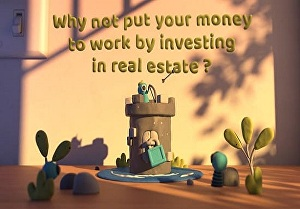 I will make real estate agent promo video in claymation style