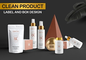 I will design awesome package box and label design