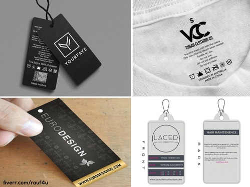 design awesome package box and label design