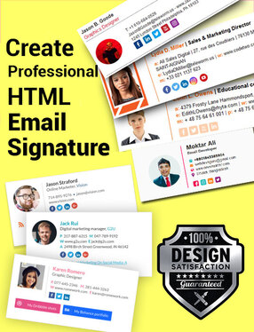 do email signature HTML email signature or Clickable signature