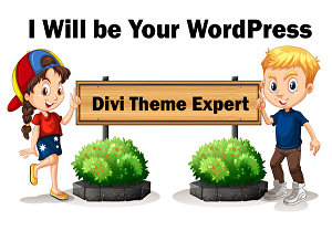 I will create a responsive WordPress website with divi theme or divi builder