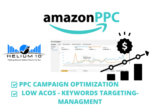 manage and optimize your amazon PPC campaign ads