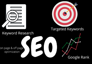 I will do Search Engine Optimization ( SEO) for your website