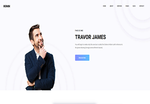 I will build a portfolio website personal website or resume website