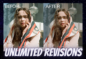 I will remove background and retouch your image professionally