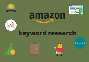 I will do amazon keyword research
