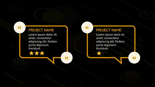 add your feedback testimonials to one of our pre designed video templates