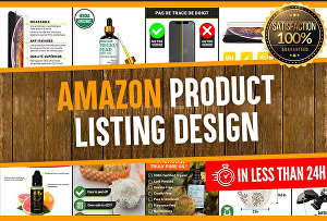 I will do background remove  amazon product listing images