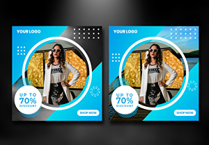 I will design awesome website banner or social media cover