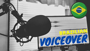 I will record the best voiceover in Brazilian Portuguese