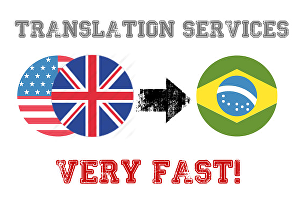 I will translate  500 words From English To Brazilian Portuguese or Vice Versa
