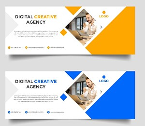 I will design facebook cover and social media cover posts, ads and banner