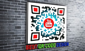 I will design colorful qr code with your logo for your business