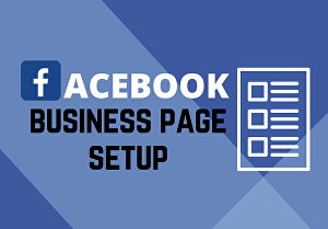I will create and set up your Facebook Business Page