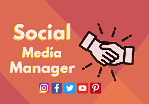 I will help you to manage your Social Media
