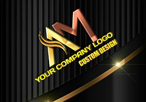 I will design modern eyectching custom logo
