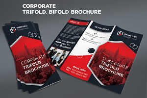 I will design amazing corporate bifold and trifold brochure