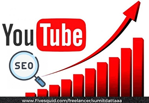 I will be your Youtube video SEO specialist to improve your video ranking