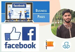 I will create an awesome Facebook page for your Business with Logo & Cover photo