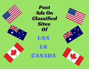 I will Post 20 Ads on Classified sites of USA, UK and Canada