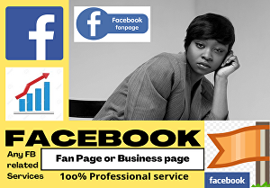 I will setup a killer Facebook business or fan page for you