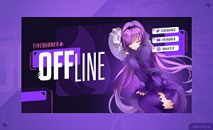 I will design animated twitch or mixer screens