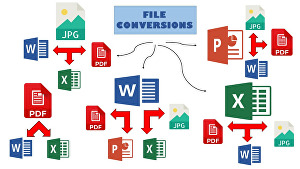 I will do PDF Editing and File conversion service for audio video image and documents