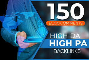 I will Do 150 Manual Dofollow Blogcomment High Quality Backlinks