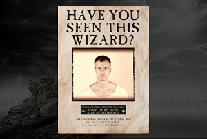 I will create an interactive Wizard Wanted Poster