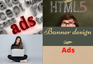 I will design attractive animated HTML5 Ads