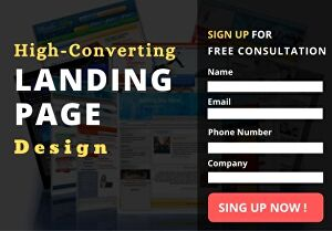 I will Create High-Converting  Landing Page or Squeeze Page