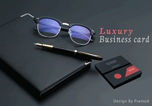 I will create premium and luxury business card