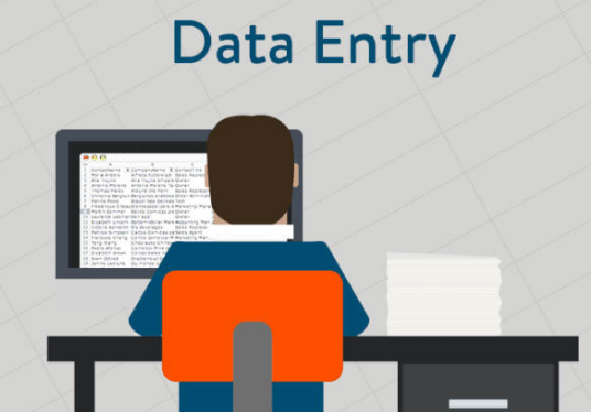 do all kinds of data entry
