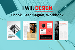 I will design lead magnets and ebook