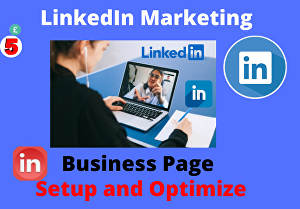 I will setup and optimize LinkedIn business page