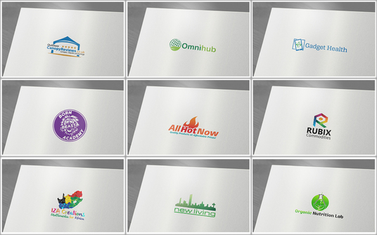 do clean modern logo design