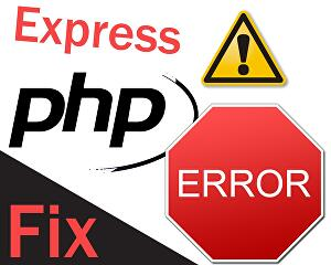 I will fix any error in your PHP code