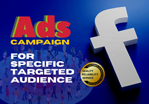 I will Setup and Monitor Your Facebook Ads for Specific Targeted Audience