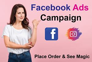 I will create Facebook ads Campaign with target audience
