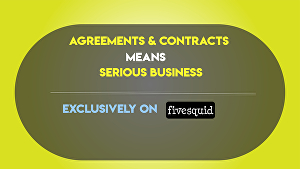 I will write  Agreement & Contracts