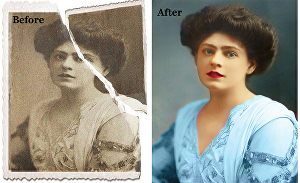 I will  do  Photo Editing and Restoration