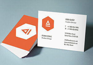 I will do any kind of business card for you