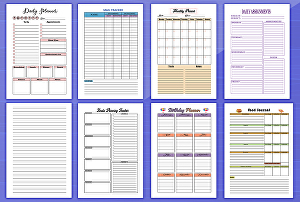 I will design custom planner, calendar, journal, books, ebooks