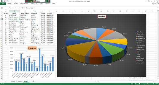 do excel data entry, excel data cleanup, PDF to excel
