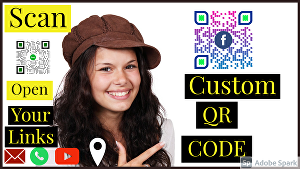 I will design custom and professional QR code with your business logo