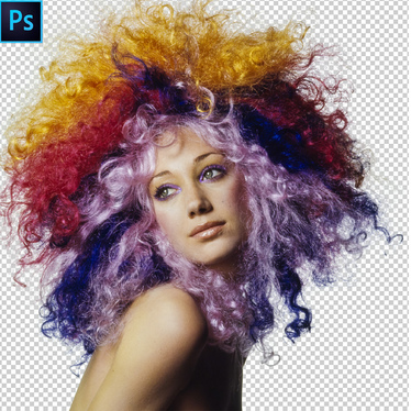 do photoshop hair masking and cut out image professionally