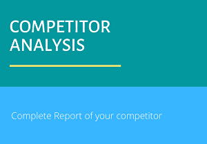 I will do Competitor Analysis