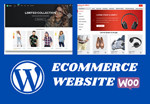 I will create a WordPress eCommerce website