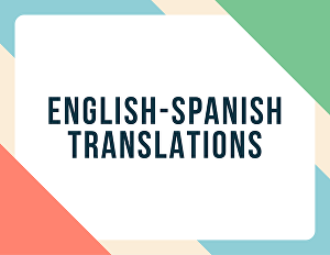 I will translate up to 15 social media posts from English to Spanish